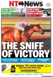 NT News Newspaper Front Page (Australia) for 7 August 2012