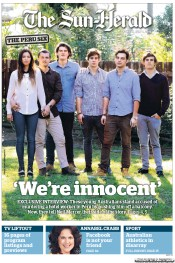 Sun Herald (Australia) Newspaper Front Page for 1 July 2012