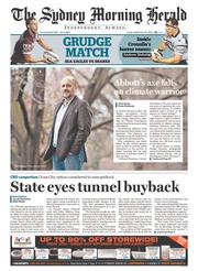 sydney morning herald front page pdf
