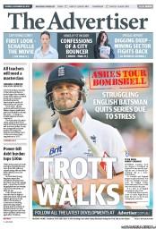 The Advertiser (Australia) Front Page for 18 September