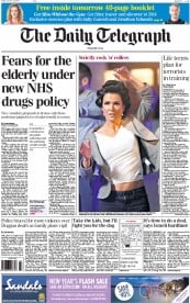 Image result for daily telegraph headline 2014