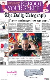 The Daily Telegraph (UK) Newspaper Front Page for 11 March 2017