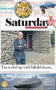 The Daily Telegraph (UK) Newspaper Front Page for 17 August 2019
