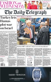 The Daily Telegraph () Newspaper Front Page for 18 December 2019