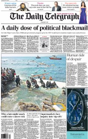 The Daily Telegraph (UK) Newspaper Front Page for 21 April 2015