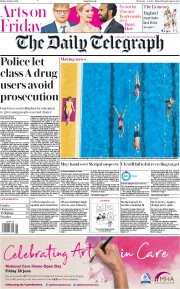 The Daily Telegraph (UK) Newspaper Front Page for 28 June 2019