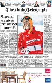 Image result for telegraph headlines 2013