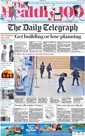 The Daily Telegraph (UK) Newspaper Front Page for 4 February 2017