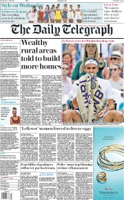 The Daily Telegraph (UK) Newspaper Front Page for 5 July 2017