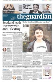 The Guardian (UK) Newspaper Front Page for 11 April 2017