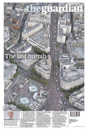 The Guardian Newspaper Front Page (UK) for 11 September 2012