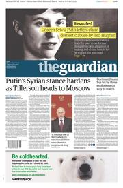 The Guardian (UK) Newspaper Front Page for 12 April 2017