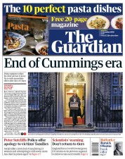 The Guardian front page for 14 November 2020