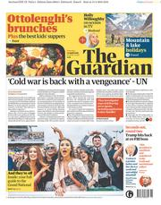 The Guardian (UK) Newspaper Front Page for 14 April 2018