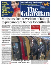 The Guardian front page for 14 May 2020