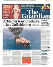 The Guardian (UK) Newspaper Front Page for 14 June 2019