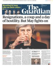 The Guardian (UK) Newspaper Front Page for 16 November 2018