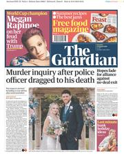 The Guardian (UK) Newspaper Front Page for 17 August 2019