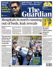 The Guardian front page for 19 October 2020