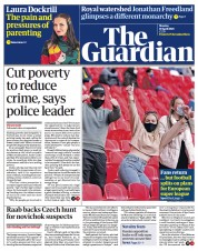 The Guardian front page for 19 April 2021