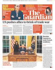 The Guardian (UK) Newspaper Front Page for 1 June 2018