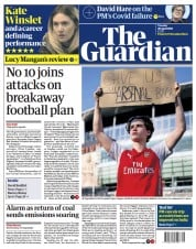 The Guardian front page for 20 April 2021
