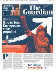 The Guardian (UK) Newspaper Front Page for 21 November 2018