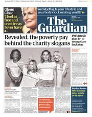 The Guardian (UK) Newspaper Front Page for 21 January 2019