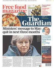 The Guardian (UK) Newspaper Front Page for 23 February 2019