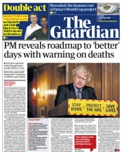 The Guardian front page for 23 February 2021