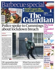 The Guardian front page for 23 May 2020