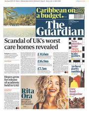 The Guardian (UK) Newspaper Front Page for 24 November 2018