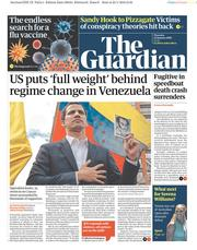 The Guardian (UK) Newspaper Front Page for 24 January 2019