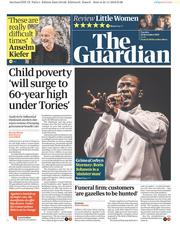 The Guardian (UK) Newspaper Front Page for 26 November 2019