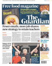The Guardian () Newspaper Front Page for 26 January 2019
