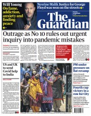 The Guardian () Newspaper Front Page for 26 April 2021