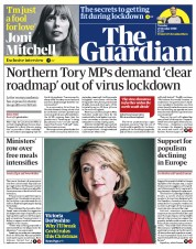 The Guardian front page for 27 October 2020