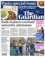 The Guardian front page for 27 June 2020