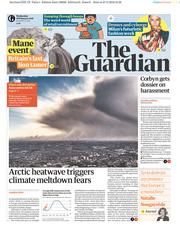 The Guardian (UK) Newspaper Front Page for 28 February 2018