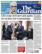 The Guardian front page for 29 June 2020