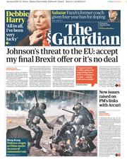 The Guardian (UK) Newspaper Front Page for 2 October 2019