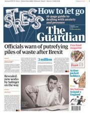 The Guardian (UK) Newspaper Front Page for 2 February 2019