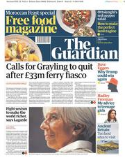 The Guardian () Newspaper Front Page for 2 March 2019
