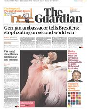 The Guardian (UK) Newspaper Front Page for 30 January 2018