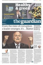 The Guardian (UK) Newspaper Front Page for 30 May 2015