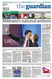 The Guardian Newspaper Front Page (UK) for 3 October 2012