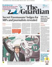 The Guardian (UK) Newspaper Front Page for 5 February 2018