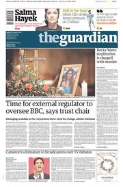The Guardian (UK) Newspaper Front Page for 5 March 2015