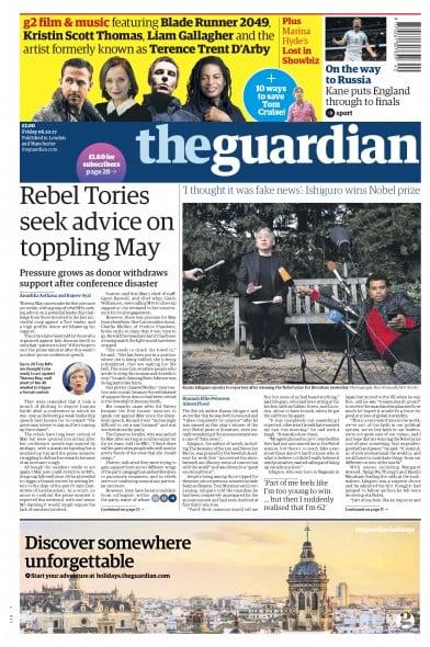 guardian paper online