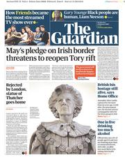 The Guardian (UK) Newspaper Front Page for 6 February 2019